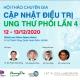 4th Discussion in Scientific Updates (DSU) in Lung Cancer - HỘI THẢO CHUYÊN GIA - CẬP NHẬT ĐIỀU TRỊ UNG THƯ PHỔI LẦN 4